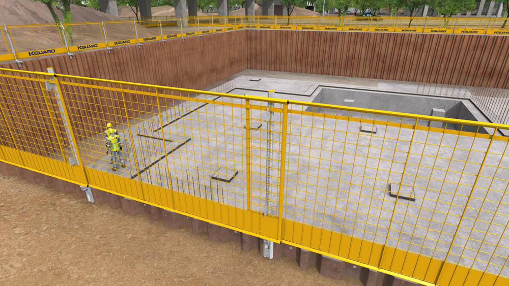Groundworks Edge Protection