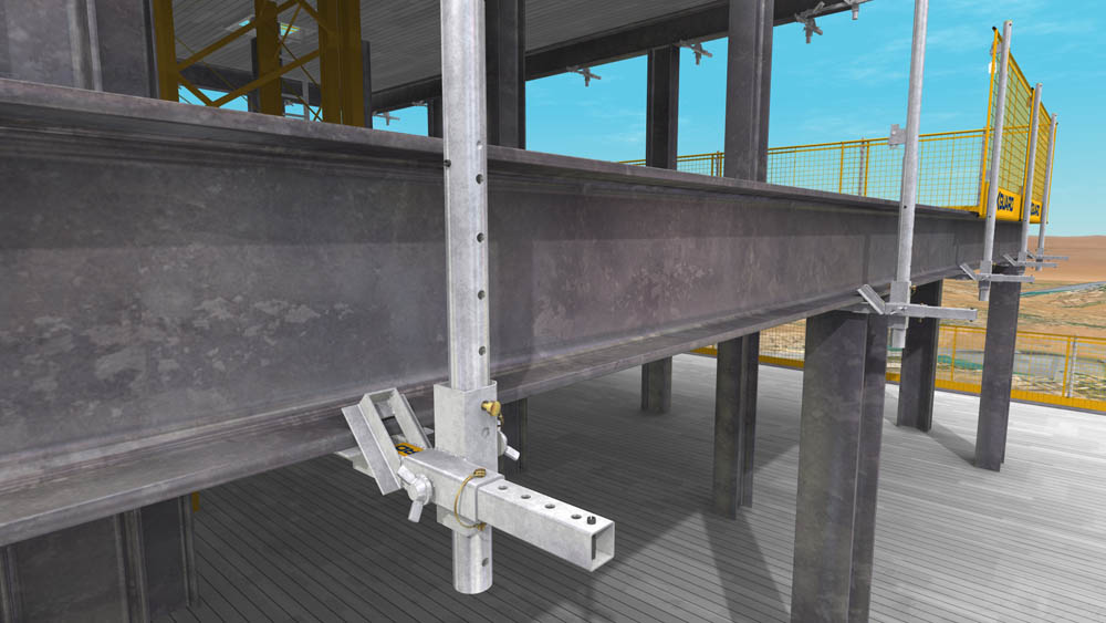 Fall Prevention For Structural Steelwork