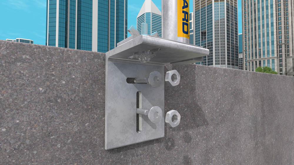 Concrete Corner Protectors : Edge protection for concrete slab