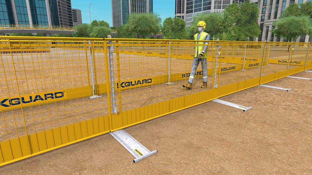 Edge Protection Easily Erectable Walkway Zones